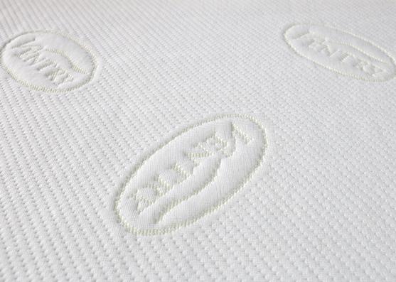 2019 nuevo estilo Jacquard Spun Poly colchón tejido de punto 240gsm