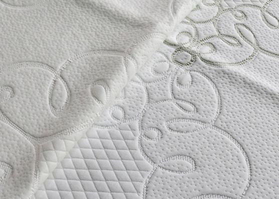 2019 El más nuevo tejido de colchón de punto 380gsm que hace tictac para colchón