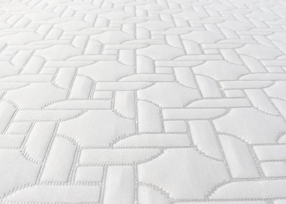 Tejido de punto de colchón de punto 100% poliéster de alta calidad y buen precio