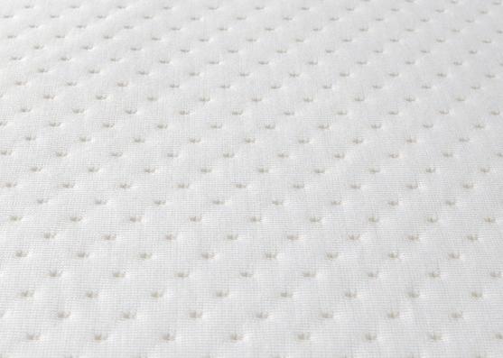 punto blanco tejido de punto jacquard 100% poliéster de buena calidad