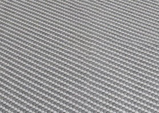 15% algodón, 85% poliéster, tejido de punto con colchón de 240 g/m²