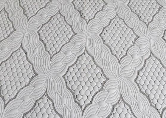 Tela de punto cubierta de colchón para textiles para el hogar