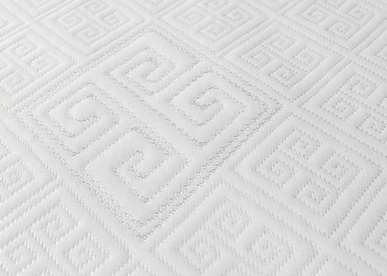 Tela de colchón de punto mezclado casero