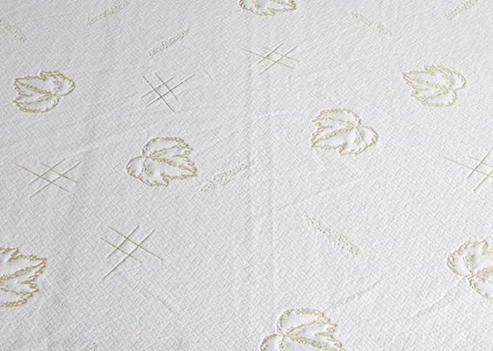 Tela de colchón de 220 cm de ancho Tela de colchón de punto de hoja de arce