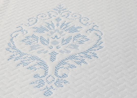 Tela de punto de cubierta de colchón de diseño moderno para textiles para el hogar