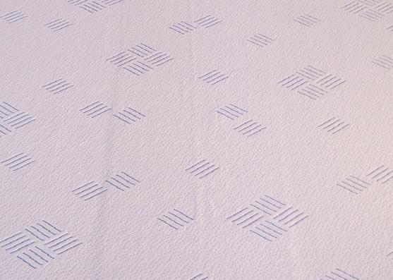 Confort Nuevo diseño antibacteriano tejido de punto de enfriamiento para almohada de látex