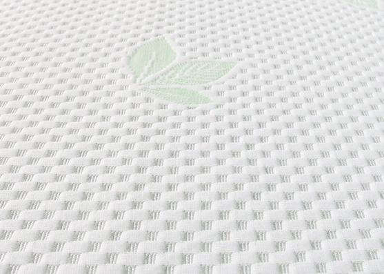 Funda de almohada de látex 240gsm 100% poliéster tejido de punto doble
