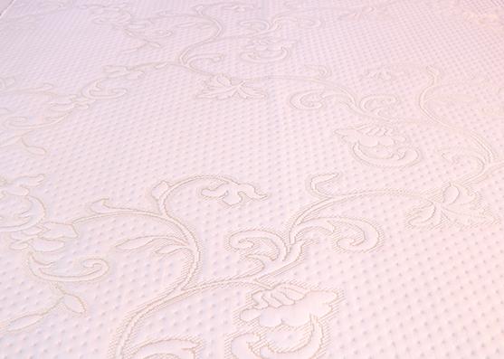 Nuevo diseño ancho 220 cm 100% poliéster colchón que hace tictac tela