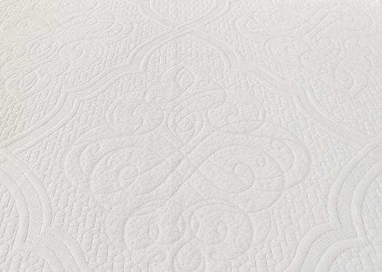 Textil de alta calidad100% poliéster tejido jacquard colchón