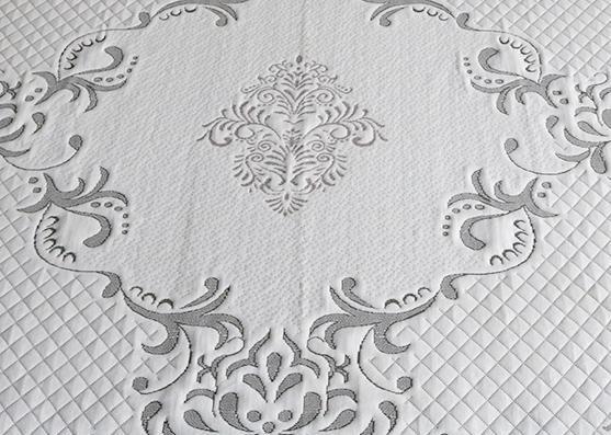 100% Funda de colchón de poliéster tejido de punto para textiles para el hogar