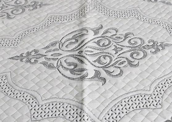 Hecho en tela de colchón doble de lujo de fábrica