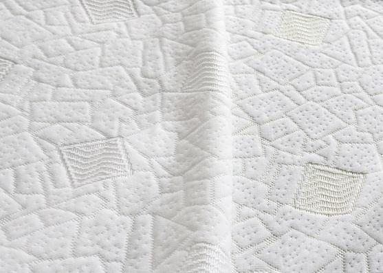 Tejido de punto de colchón repelente al agua 100% poliéster, peso 200gsm