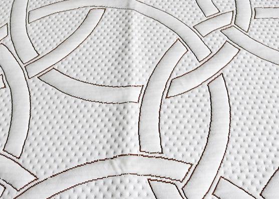 Colchón de poliéster filamento que hace tictac telas de revestimiento